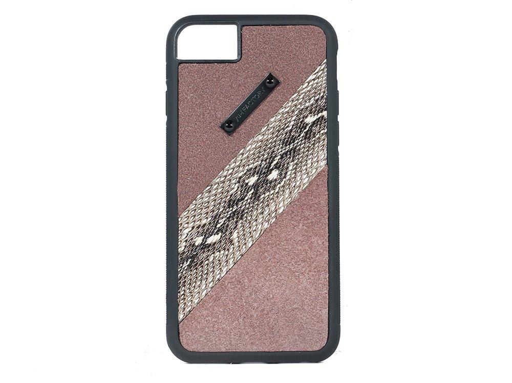 iPhone SE(2世代)6・7・8 ケース ヨーゲ/ブラウン