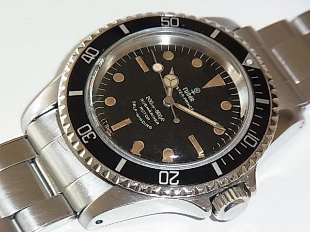 new product b2c59 f6116 チュードル サブマリーナ Ref.7016/0 薔薇サブ - 福岡・腕時計専門店アンチェインドカラーズ/買取