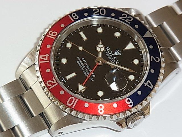 ロレックス GMTマスター Ref.16700 赤/青ベゼル A番