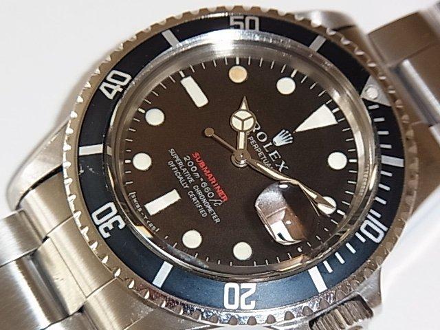 best service ab457 74eab ロレックス サブマリーナ Ref.1680 赤サブ MARK-II ブラウン - 福岡・腕時計専門店アンチェインドカラーズ/買取