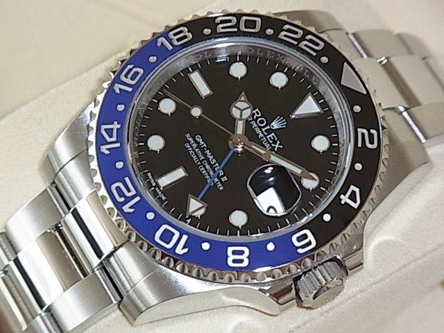 ロレックス GMTマスターII Ref.116710BLNR 国内正規未使用品