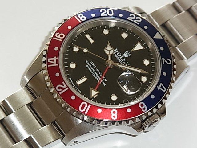 ロレックス GMTマスター Ref.16700 国内正規品 X番 赤/青ベゼル