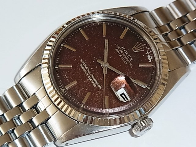 new product 3a4d0 04e48 ロレックス デイトジャスト Ref.1601 ミラーダイヤル - 福岡・腕時計専門店アンチェインドカラーズ/買取