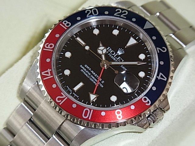 ロレックス GMTマスター� Ref.16710 赤青ベゼル D番