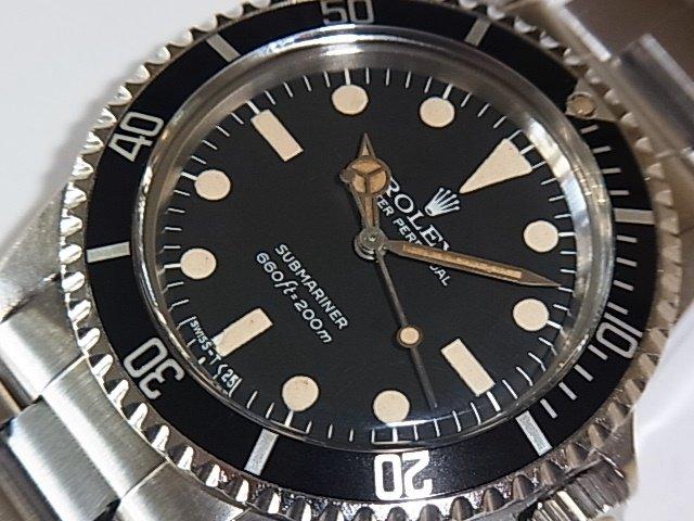 big sale 2496e 899aa ロレックス サブマリーナ Ref.5513 マキシダイヤル - 福岡・腕時計専門店アンチェインドカラーズ/買取