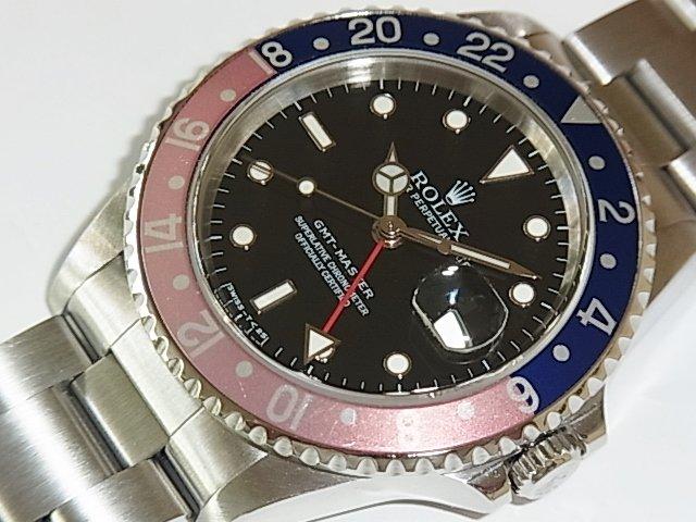 ロレックス GMTマスター Ref.16700 青×赤ベゼル