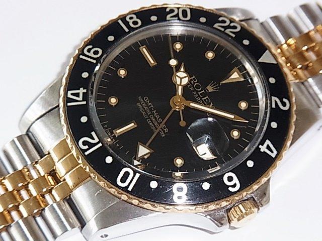 ロレックス GMTマスター Ref.16753 フジツボ