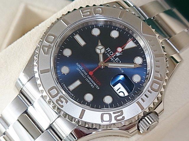 ロレックス ヨットマスター40 Ref.116622 ブルー 未使用品