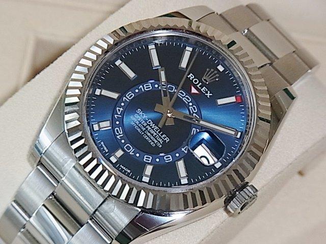 ロレックス スカイドゥエラー Ref.326934 ブルー 未使用品