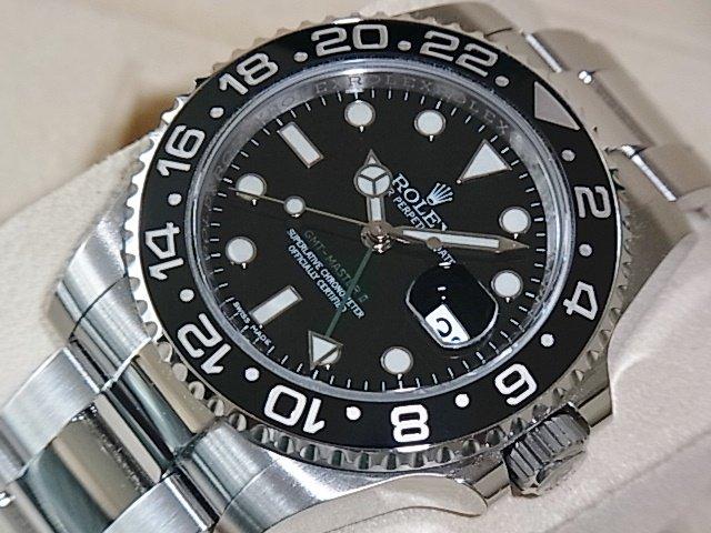 ロレックス GMTマスターII Ref.116710LN  ランダム