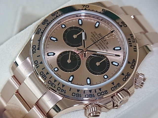 ロレックス デイトナ Ref.116505 ピンク×ブラック 未使用品