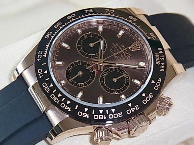 ロレックス デイトナ Ref.116515LN チョコブラウン×ブラック 未使用品