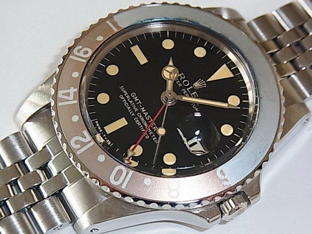 ロレックス GMTマスター Ref.1675 ミラー