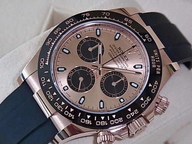 ロレックス デイトナ Ref.116515LN ピンク×ブラック 未使用品