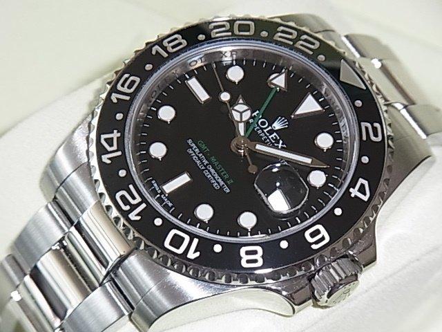 ロレックス GMTマスターII Ref.116710LN G番
