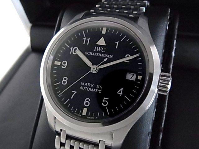 buy online ff370 de199 IWC マーク12 Ref.3241-02 ブレス&革ベルト - 福岡・腕時計専門店アンチェインドカラーズ/買取