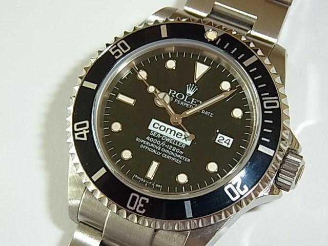 ロレックス シードウェラー Ref.16600 COMEX