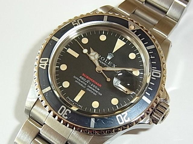quality design 53911 c8dda ロレックス サブマリーナ Ref.1680 赤 - 福岡・腕時計専門店アンチェインドカラーズ/買取