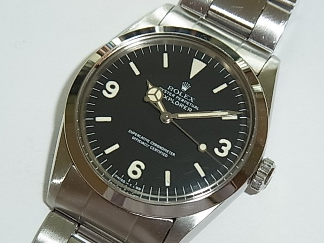new style ef249 f5931 ロレックス エクスプローラーI Ref.1016 ハック機能有り オリジナルトリチウム - 福岡・腕時計専門店アンチェインドカラーズ/買取