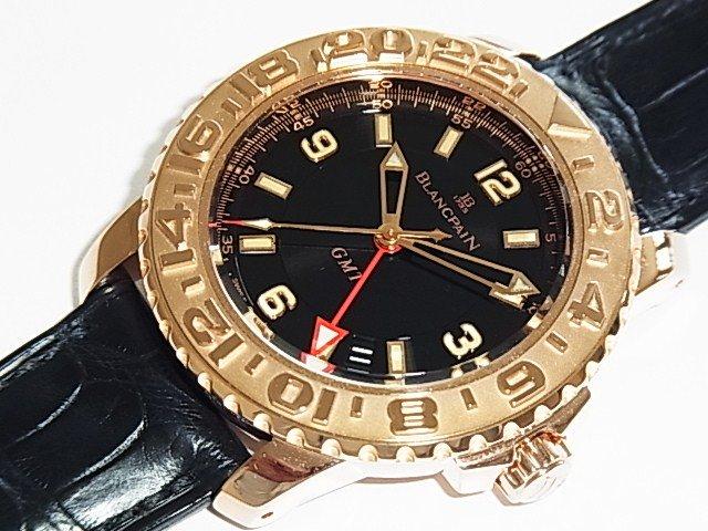 ブランパン トリロジーGMT Ref.2250-3630 100本限定 レッドゴールド