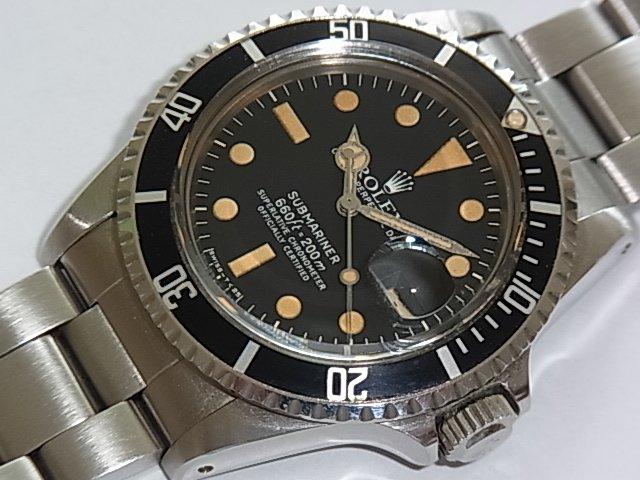 wholesale dealer d46f2 934ea ロレックス サブマリーナ Ref.1680 正規保証書等 - 福岡・腕時計専門店アンチェインドカラーズ/買取