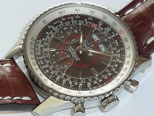 huge discount 88519 fd914 ブライトリング モンブリランダトラ A213Q09WBA 正規品 - 福岡・腕時計専門店アンチェインドカラーズ/買取