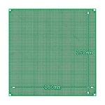角ランド ユニバーサル基盤 片面ガラスエポキシ(FR-4)レジスト有り 150mm×150mm