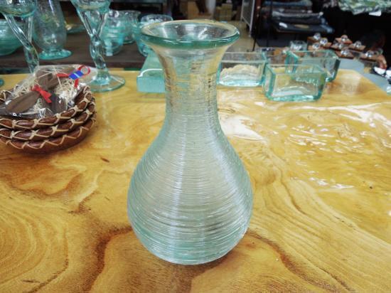 とっくり 花瓶にも使えます 【涼しげなバリガラス】