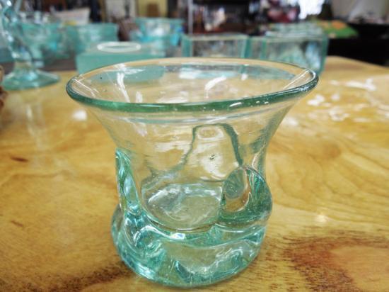 ショットグラス おちょこ【涼しげなバリガラス】