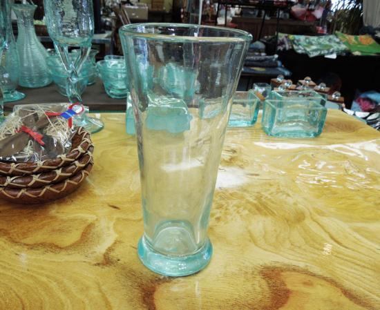 ロンググラス【涼しげなバリガラス】