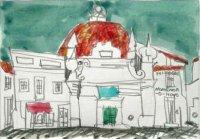 005.モンテモール・オ・ノヴォのドーム屋根の家