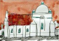 045.ドーム屋根の教会