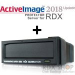 【リリース記念キャンペーン】タンベルグデータ USB3.0外付 RDXドライブ with ActiveImage Protector 2018 Server for RDX (Windows用)