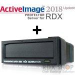 【バージョンUPキャンペーン】タンベルグデータ USB3.0外付 RDXドライブ with ActiveImage Protector 2018 Server for RDX (Windows用)