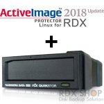 【バージョンUPキャンペーン】タンベルグデータ USB3.0外付 RDXドライブ with ActiveImage Protector 2018 Linux for RDX