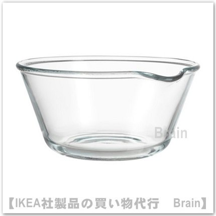 VARDAGEN:ボウル26 cm(クリアガラス)
