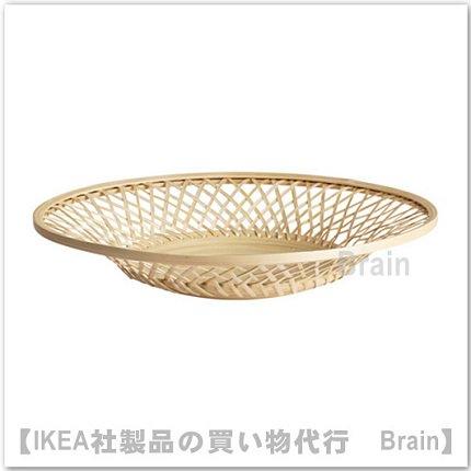 VIKTIGT:皿/直径37 cm(竹)