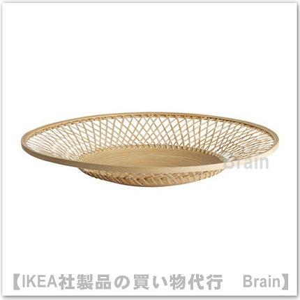VIKTIGT:皿/直径50 cm(竹)