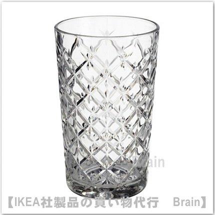 FLIMRA:グラス14 cm(クリアガラス/模様入り)