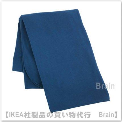 SKOGSKLOCKA:ひざ掛け130x170 cm(ブルー)【1/28までの期間限定価格】