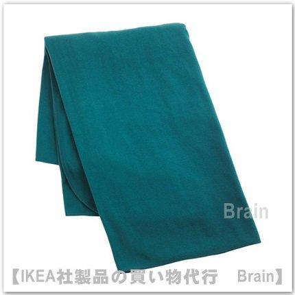 SKOGSKLOCKA:ひざ掛け130x170 cm(グリーンブルー)【1/28までの期間限定価格】