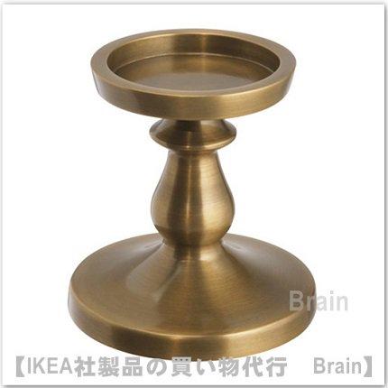 ERSÄTTA:ブロックキャンドルホルダー13 cm(黄銅色)