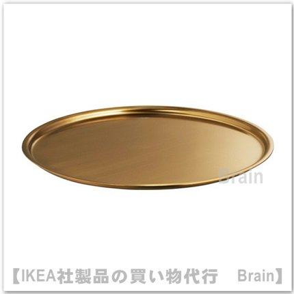 BELEVAD:キャンドル皿22 cm(黄銅色)
