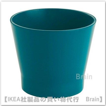 PAPAJA:鉢カバー9㎝(ダークターコイズ)