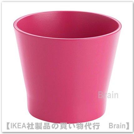 PAPAJA:鉢カバー9㎝(ダークピンク)