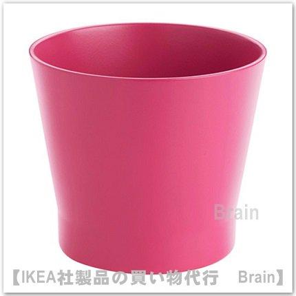 PAPAJA:鉢カバー12㎝(ダークピンク)