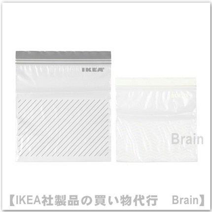 ISTAD:プラスチック袋(グレー/ホワイト)【50枚セット】