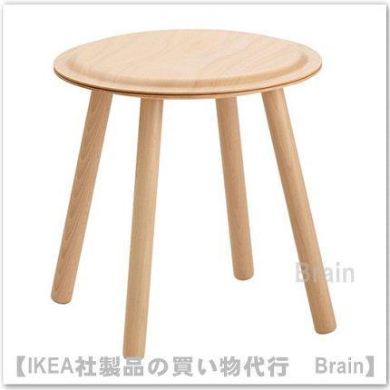IKEA PS 2017:サイドテーブル/スツール(ビーチ)