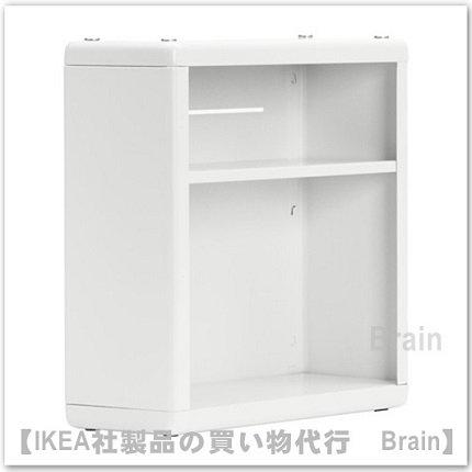 DYNAN:ウォールシェルフ40x15x40 cm(ホワイト)