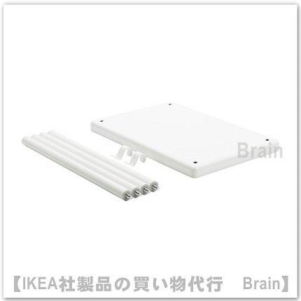DYNAN:追加棚板40x27x40 cm(ホワイト)
